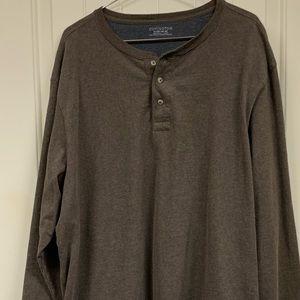 NWOT Covington cotton long-sleeve shirt.